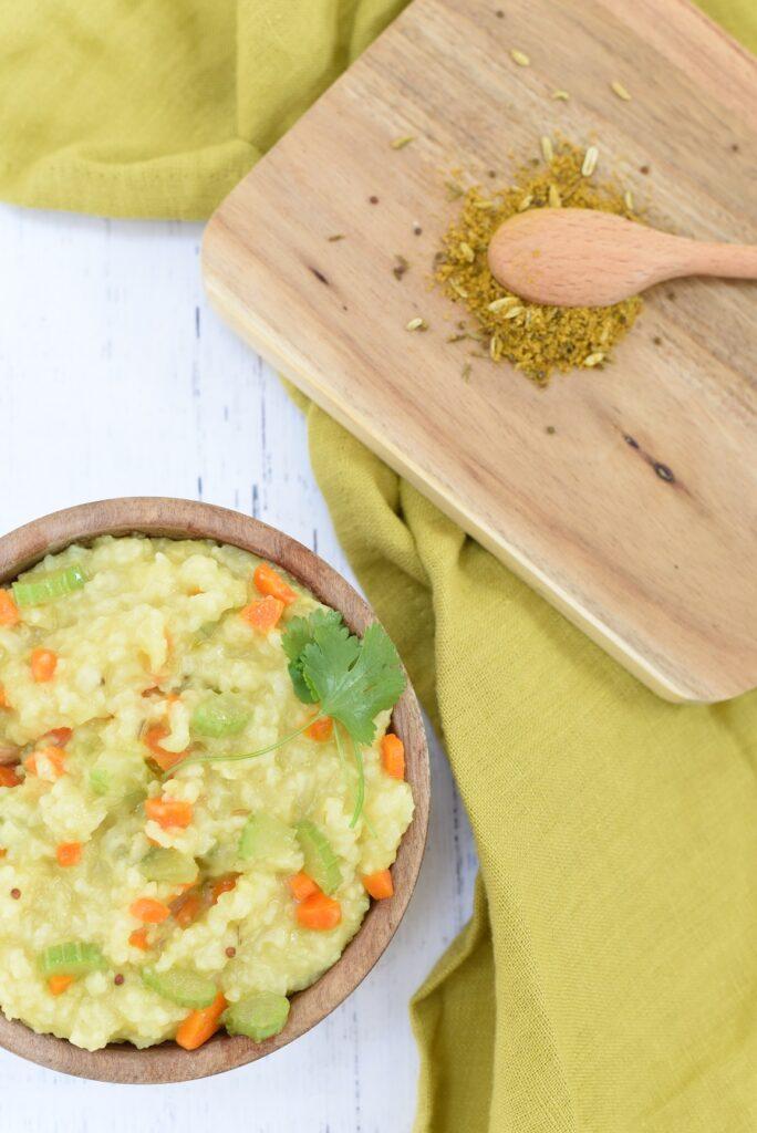 Kitchari in bowl