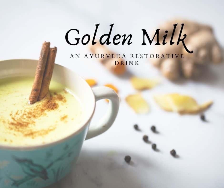 Golden Milk An Ayurveda Drink