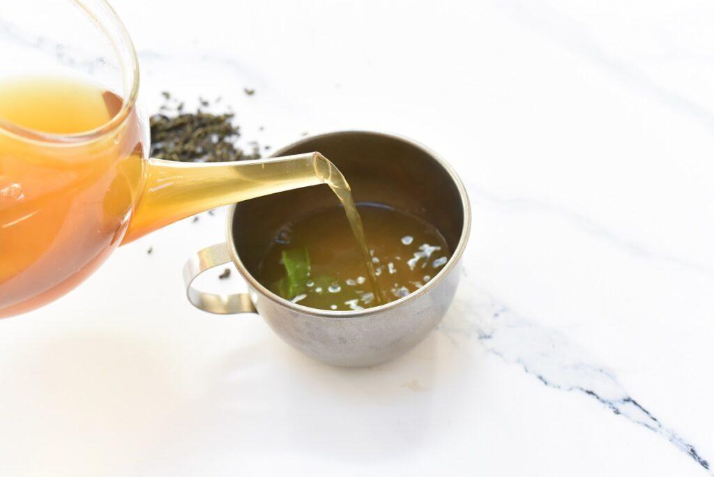 Pouring Detox Tea