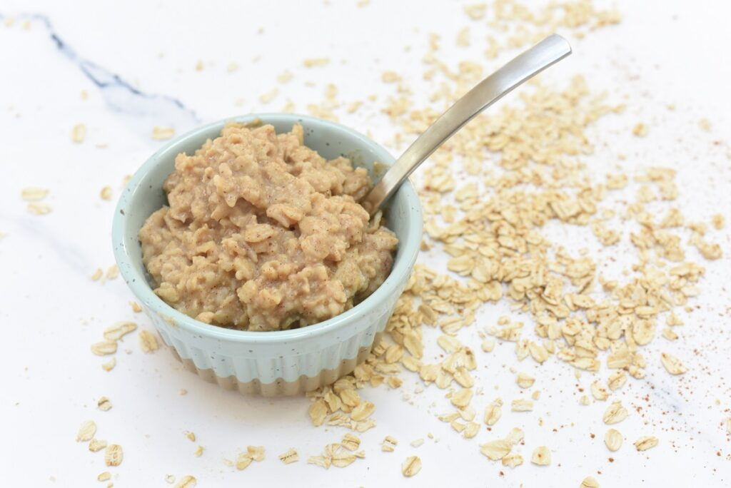 Easy Oatmeal Recipe in bowl