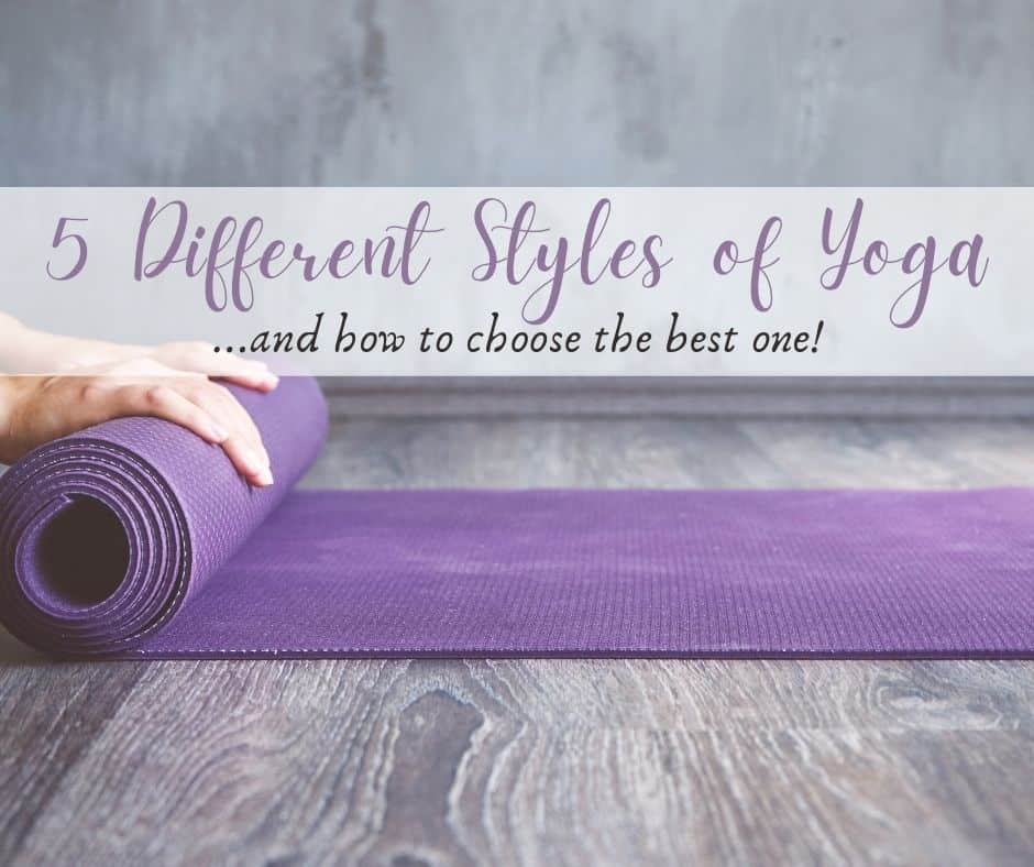 5 Different Styles of Yoga