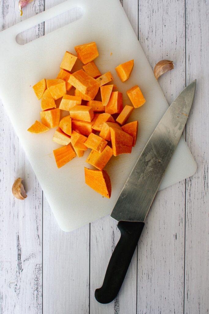 How to Make Sweet Potato Buddha Bowl