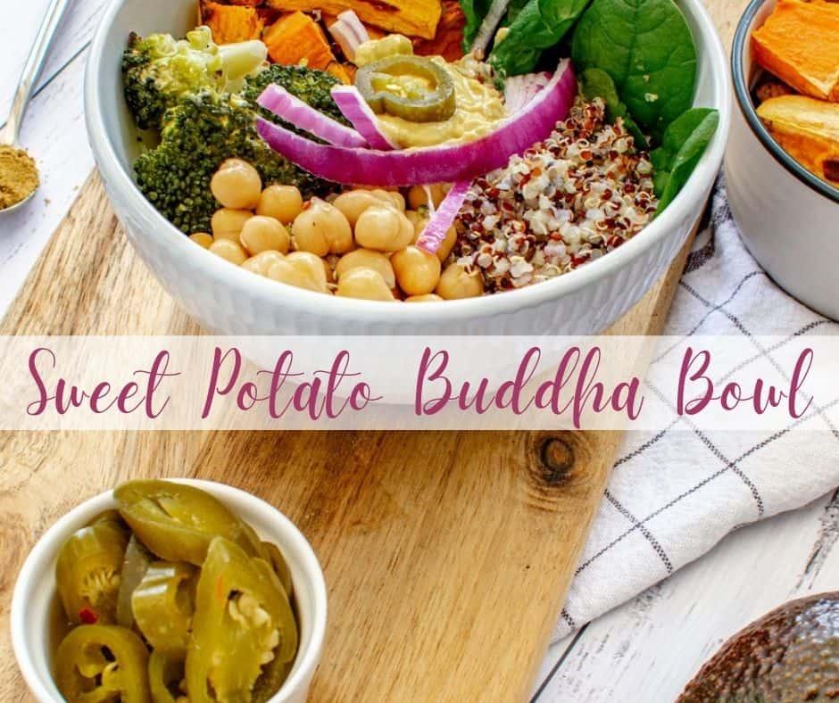 Sweet Potato Buddha Bowl